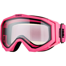 Bliz Edge Drop Brille matte pink/clear